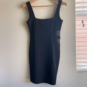 Literature Noir Black Bandage Mini Dress